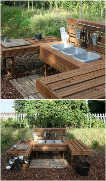 easy wood pallet ideas