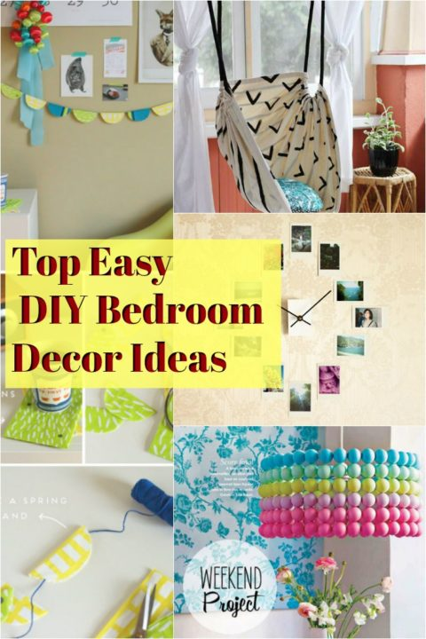 diy bedroom home decor ideas