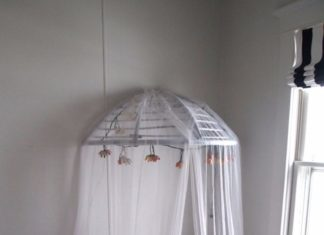 diy-room-decor-easy canopy-bed