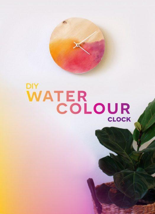 diy-room-decor-easy clock