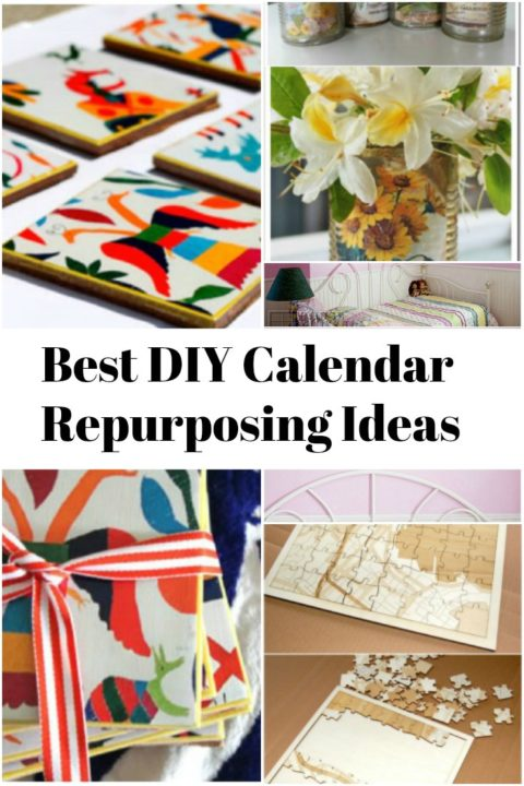 DIY Calendar Repurposing Ideas