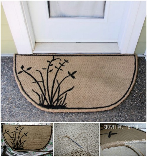 DIY Carpet Repurposing Ideas 5