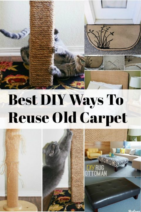 DIY Carpet Repurposing Ideas projects