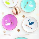12 Creative DIY Ways To Decorative Your Plates : Its Fun