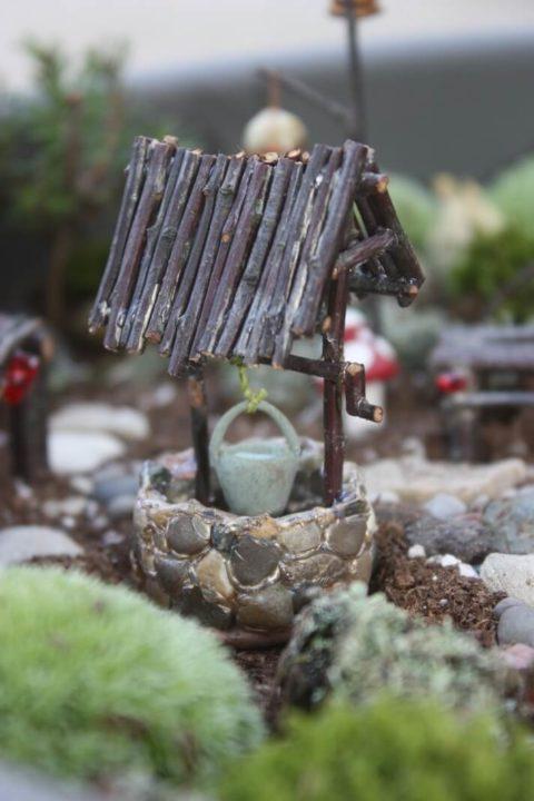 Diy Fairy Garden Furniture Ideas, How To Make Miniature Garden Furniture