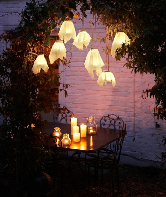 8 Stunning DIY Outdoor Lighting Ideas : For Serious Garden Makeover