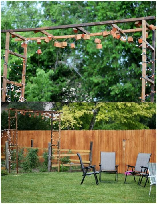 8 Stunning DIY Outdoor Lighting Ideas : For Serious Garden Makeover