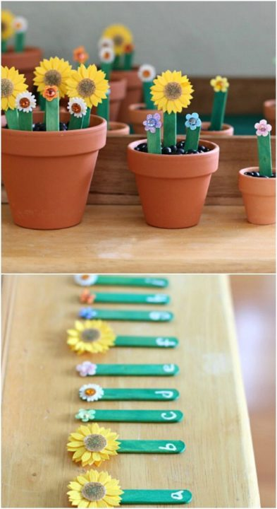 10 Popular Creative Popsicle stick crafts : Fun DIY Ideas with Popsicle Sticks