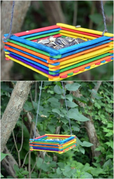 Popsicle stick crafts for kids 7
