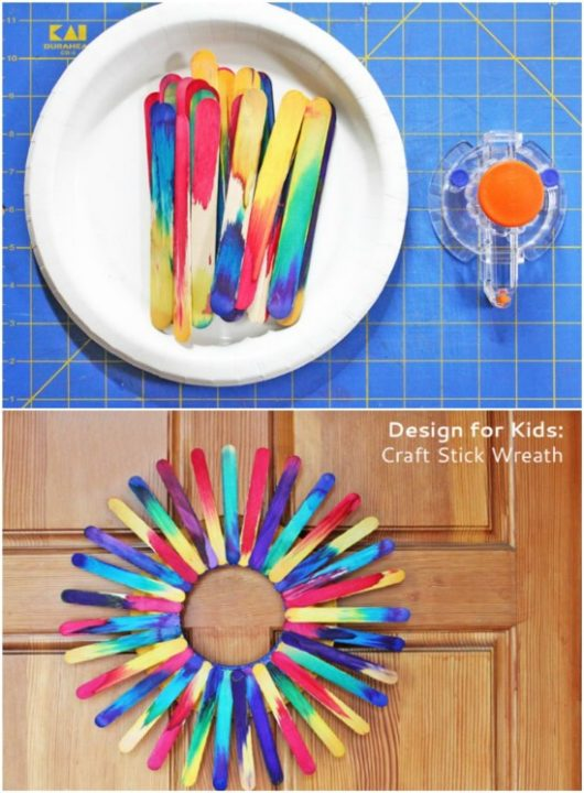 Popsicle stick crafts for kids 9