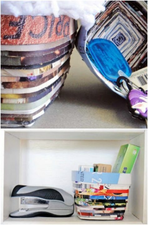 12 creative diy ways to repurpose old magazines and newspapers. Black Bedroom Furniture Sets. Home Design Ideas