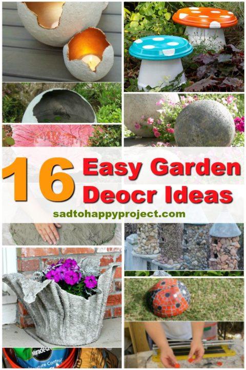 diy garden decor ideas and projects