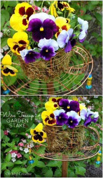 16 DIY Garden Decor Ideas Which Are Easy To Do on Easy Diy Garden Decor id=37633