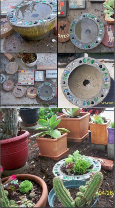 diy garden decor planter