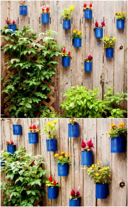Garden Ideas From Recycled Materials Recycled Crafts Classy World