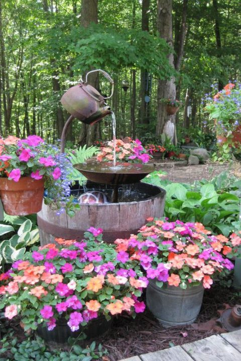 Cheap DIY Art Projects to Beautify Your Backyard Landscape