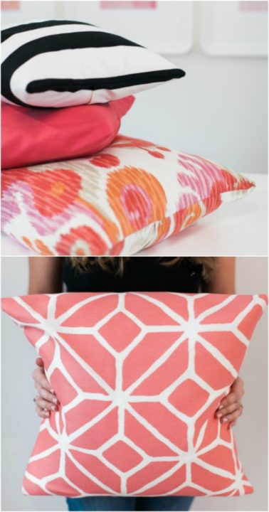 14 cool and creative diy pillow projects to make your room super cozy